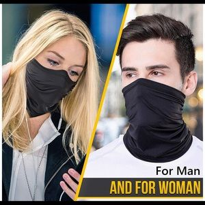 Neck Gaiter Mask Cover Scarf  Breathable pack of 2